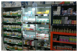 Bayer Shelf in Shelf