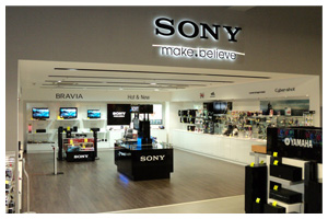 Sony Shop in Shop
